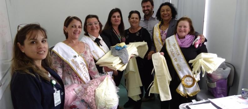 Hospital Getúlio Vargas recebe doações para mamães e seus recém-nascidos