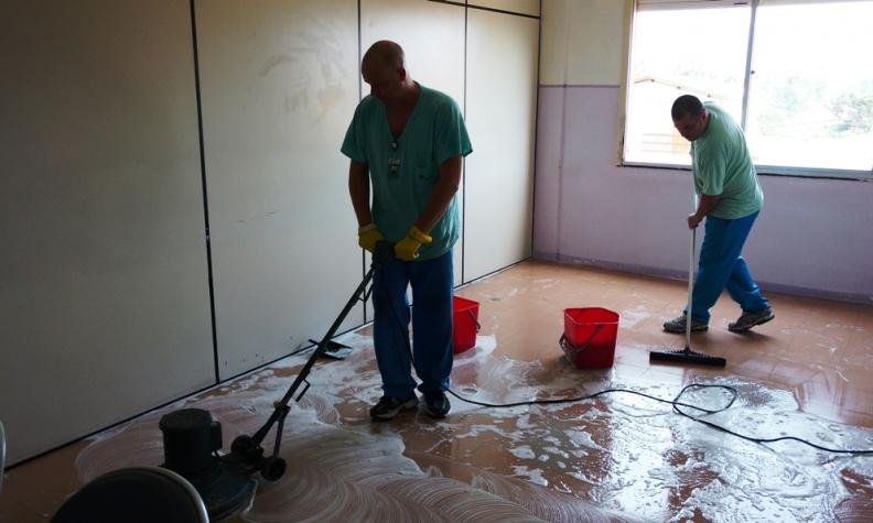 HMGV incrementa sistema de limpeza terminal