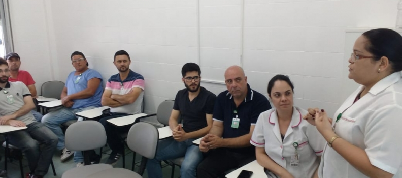 Equipe de Manutenção e Infraestrutura participa de curso do Programa de Educação Permanente e Continuada