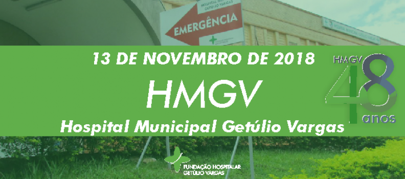 HMGV completa 48 anos