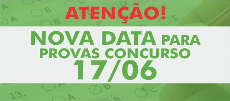 Provas do Concurso Público para Sapucaia do Sul transferidas para 17 de junho