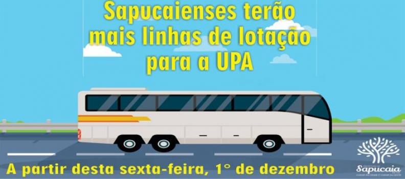 Novos trajetos de lotação facilitam acesso à UPA de Sapucaia do Sul