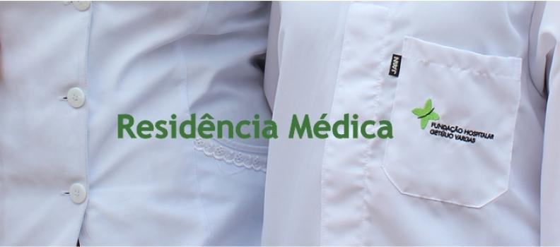 Prazo de inscrições para vagas remanescentes do Programa de Residência Médica do HMGV encerra na segunda (12)