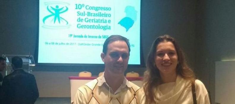 Médico residente do HMGV participa de Congresso Sul-Brasileiro de Geriatria e Gerontologia