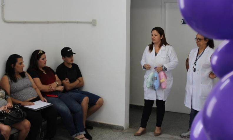 Clisam realiza roda de conversa no Dia da Prematuridade