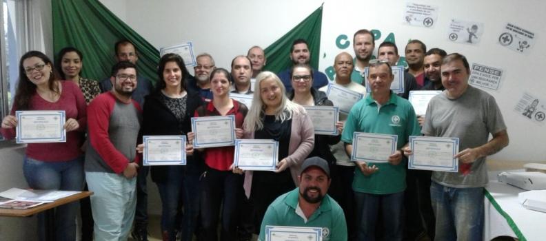 Eleitos da CIPA do Hospital Tramandaí tomam posse para gestão 2018/2019