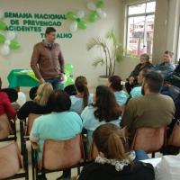 PALESTRAS MARCAM SEMANA DE PREVENÇÃO DE ACIDENTES NO HOSPITAL TRAMANDAÍ