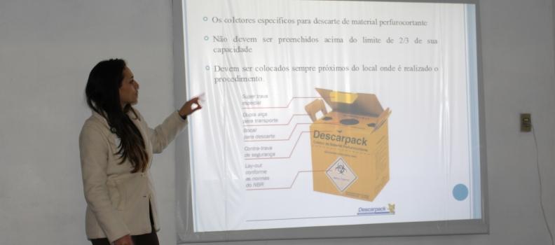 CIPA realiza palestra sobre Acidentes de Trabalho com Materiais Biológicos
