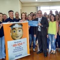 Hospital Tramandaí recebe doação do Troco Amigo Panvel