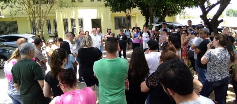 Direção da FHGV recebe trabalhadores de Sapucaia do Sul