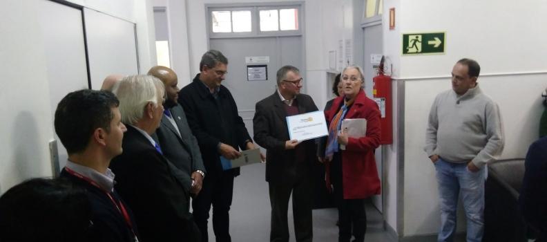Rotary entrega 40 novas poltronas ao Hospital Getúlio Vargas