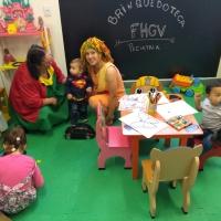 Pediatria do HMGV inaugura Brinquedoteca