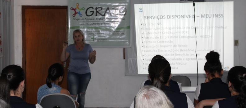 Palestra do GRATO esclarece dúvidas sobre serviços do INSS