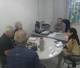 Rotary visita a FHGV e organiza ação para a chegada de novas poltronas ao HMGV