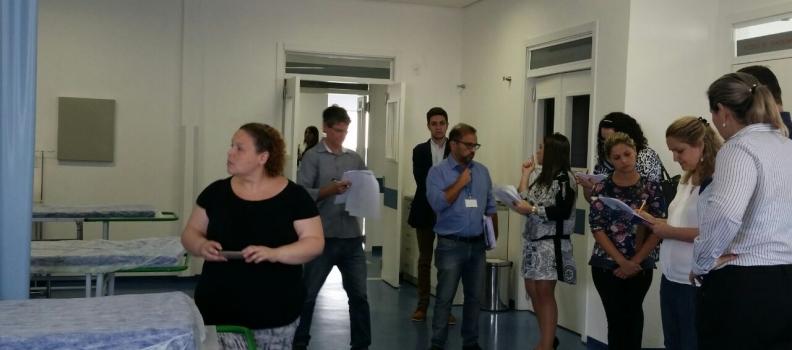 Unidades da Fundação recebem vistoriadores do Ministério da Saúde