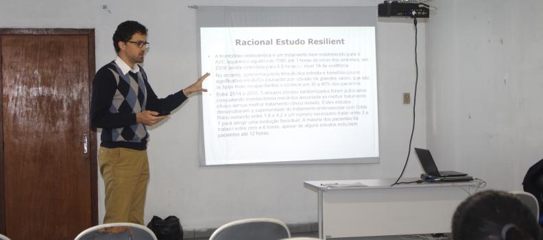 Treinamento visa futuro do tratamento de AVC no Hospital Getúlio Vargas