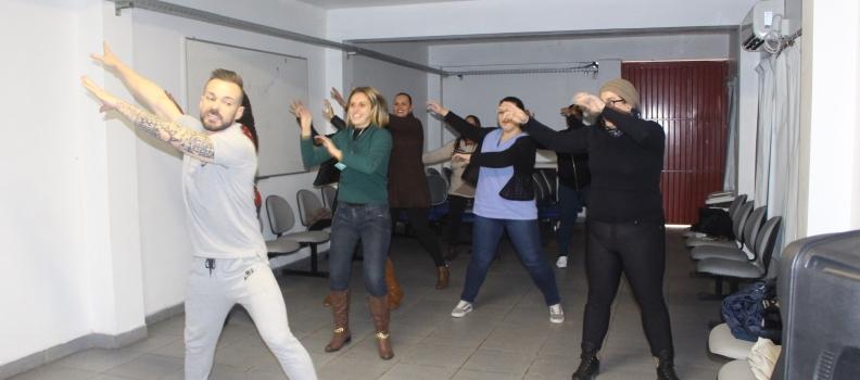 Dia do Desafio coloca funcionários da FHGV pra dançar
