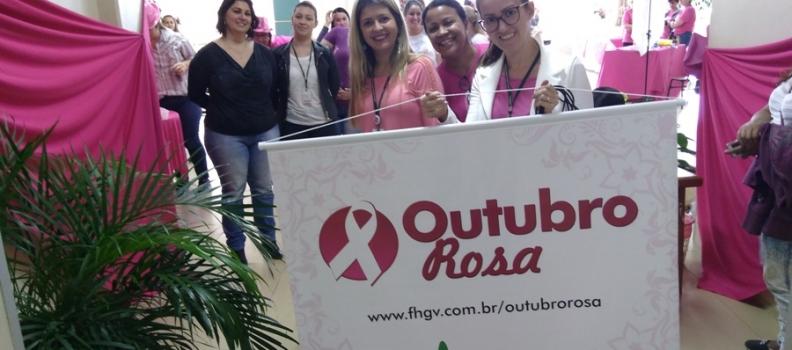 Outubro Rosa no Hospital Tramandaí: o exercício da prevenção