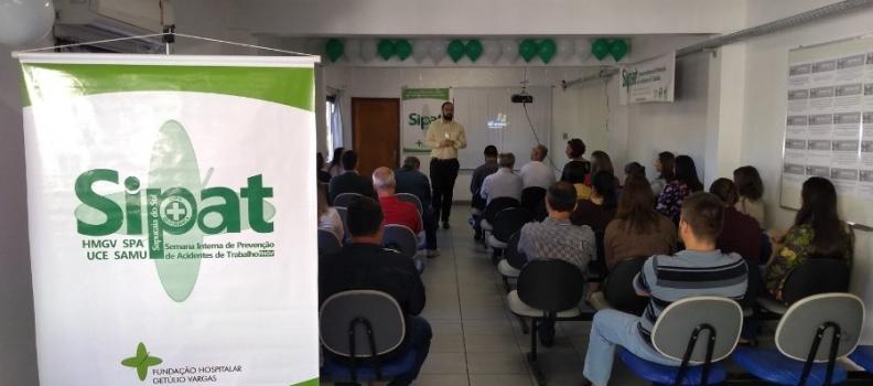 Participação do público é destaque na abertura da SIPAT do HMGV