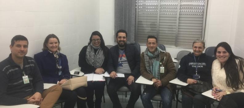 FHGV participa de reunião com Unisinos para tratar de acompanhamento de estágios