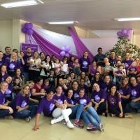 Novembro Roxo do Hospital Tramandaí destaca cuidados com bebês prematuros