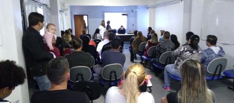 Clisam realiza palestra sobre Planejamento Familiar no auditório da FHGV