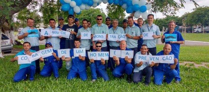 Clisam realiza ação alusiva ao Novembro Azul em Sapucaia do Sul