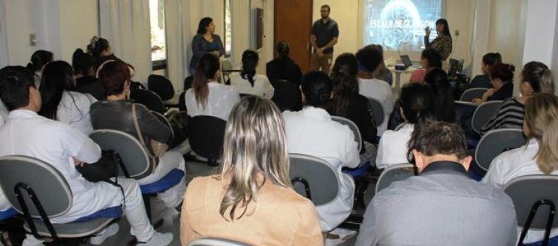 Técnicos de enfermagem do HMGV apresentam Trabalho de Especialização Técnica em Emergência e Urgência